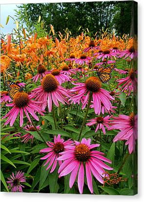Canvas Print featuring the photograph You And Me by Doug Kreuger