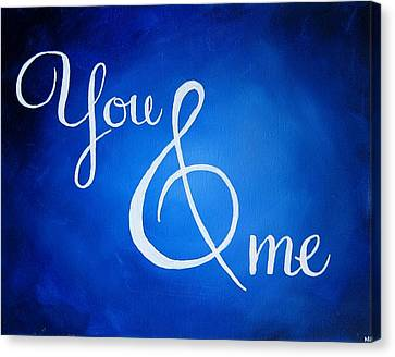Dave Matthews Canvas Print - You And Me by Michelle Eshleman