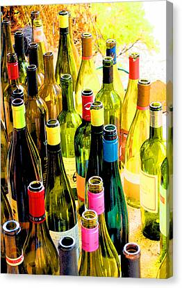 You Are Invited To A Wine Tasting... Canvas Print by Margaret Hood