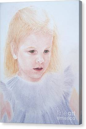 Canvas Print featuring the painting You Are Special by Mary Lynne Powers