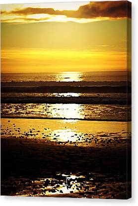 You Are The Salt Of The Earth And The Light Of The World Canvas Print by Sharon Soberon