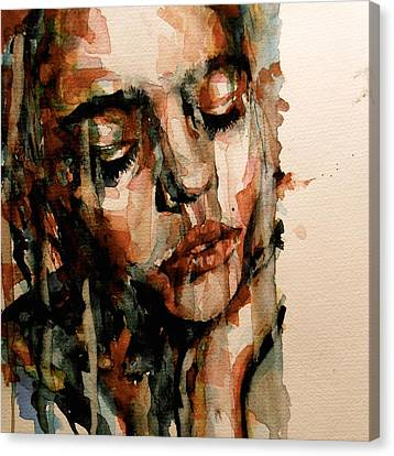 Sadness Canvas Print - You Ditch It All To Stay Alive A Thousand Kisses Deep by Paul Lovering