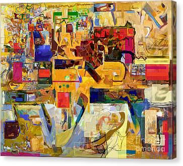 You Graciously Endow Man With Wisdom 16f Canvas Print by David Baruch Wolk
