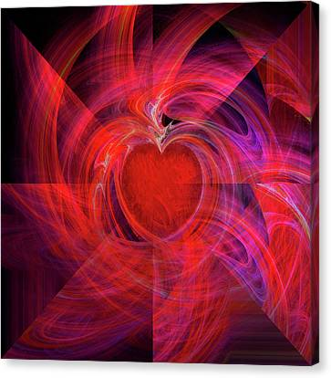You Make My Heart Beat Faster Canvas Print by Michael Durst