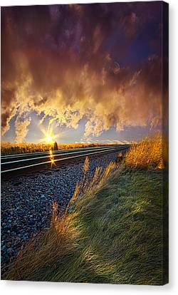 You Will Never Walk Alone Canvas Print by Phil Koch