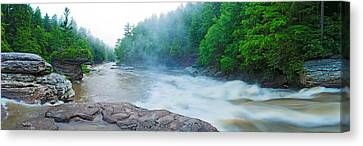 Youghiogheny River A Wild And Scenic Canvas Print by Panoramic Images