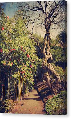 Blooming Trees Canvas Print - You'll Never Be Alone by Laurie Search