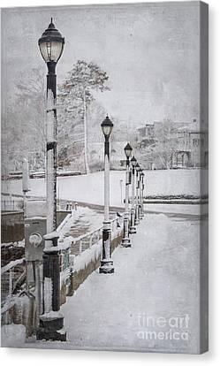 You'll Never Walk Alone Canvas Print by Evelina Kremsdorf