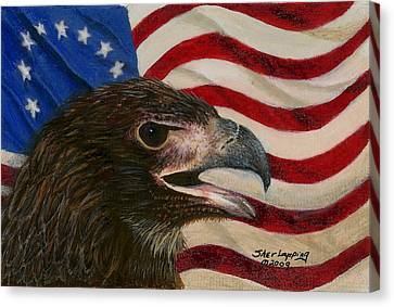 Young Americans Canvas Print by Sherryl Lapping