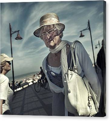 Young At Heart Canvas Print by Michel Verhoef