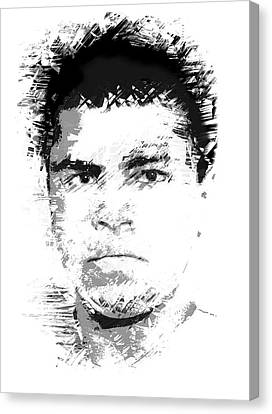 Young Cassius Clay Canvas Print by Daniel Hagerman