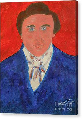 Young Joseph Smith Junior 1 Canvas Print by Richard W Linford