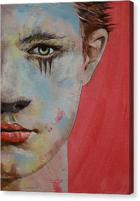 Young Mercury Canvas Print by Michael Creese