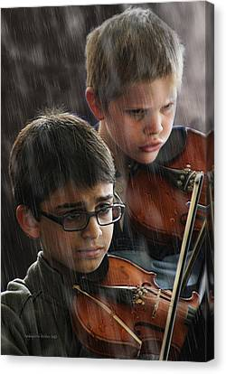 Young Musicians Impression #45 Canvas Print