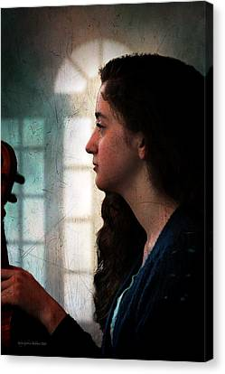 Young Musicians Impression #46 Canvas Print