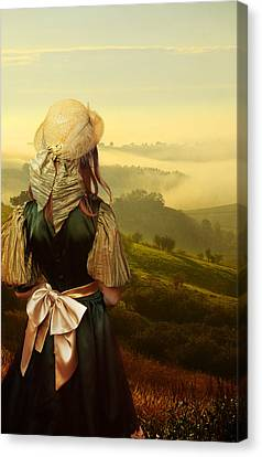 Young Traveller Canvas Print