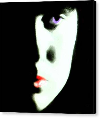 Young Woman  C# 52 Canvas Print
