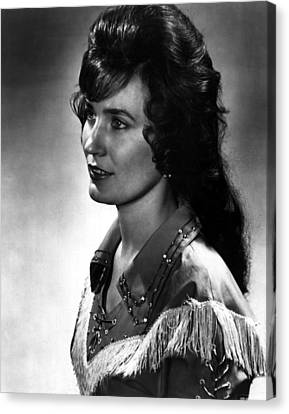 Younger Loretta Lynn Canvas Print by Retro Images Archive
