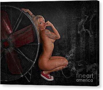 Your Biggest Fan Canvas Print by Jt PhotoDesign