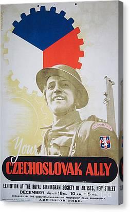 Your Czechoslovak Ally Canvas Print by Paul Fearn