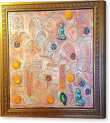 Your Decepting Confusing Lies By Alfredo Garcia Art Canvas Print by Alfredo Garcia