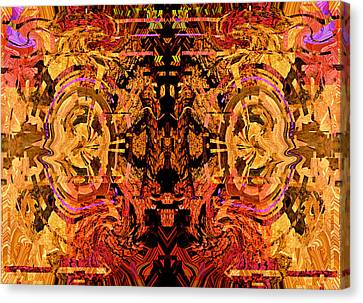Order From Disorder Canvas Print - Your Flaws Are Perfected 2013 by James Warren