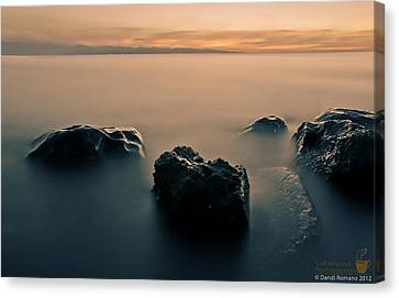 Your Life Is An Island Canvas Print by Mario Dandi Romano