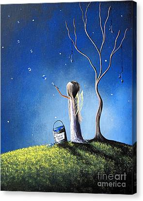 Your Wish Comes True Tonight By Shawna Erback Canvas Print by Shawna Erback