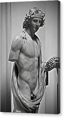 Youthful Dionysus Canvas Print