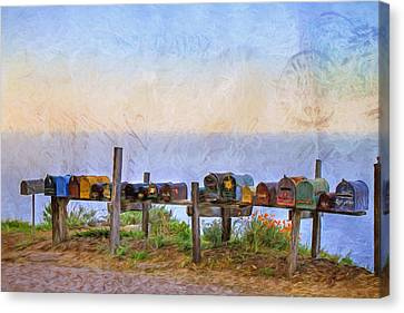 You've Got Mail Canvas Print by Donna Kennedy