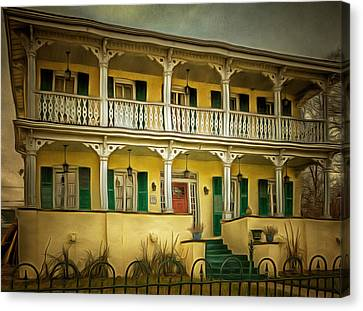 Ypsilanti's Grand Old Dames And Lovely Ladies #1 Canvas Print by MJ Olsen