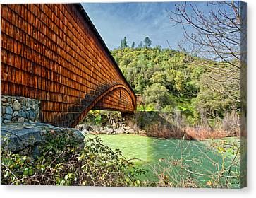 Canvas Print featuring the photograph Yuba State Park by Jim Thompson