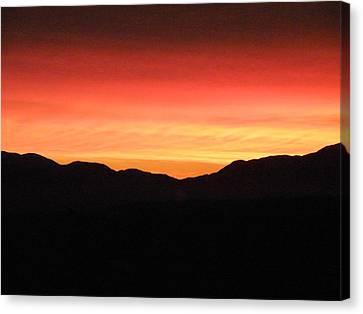 Yukon Gold And Crimson Canvas Print