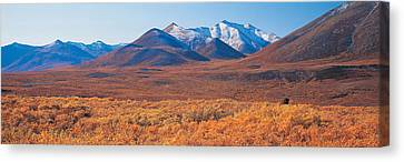 Yukon Territory Canada Canvas Print by Panoramic Images