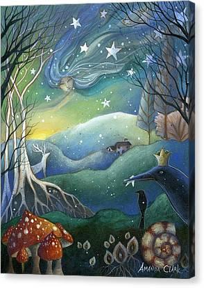 Yule Canvas Print by Amanda Clark