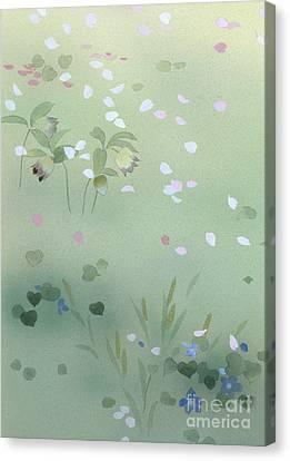Yumezakura Crop Canvas Print