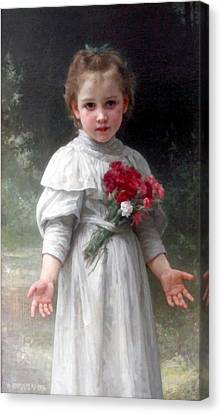 Yvonne Canvas Print by William Bouguereau