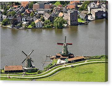 Zaanse Schans Zaandam, Noord-holland Canvas Print
