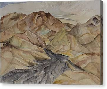 Canvas Print - Zabriski Lookout by Lynne Bolwell