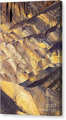 Zabriskie Color Canvas Print by Mike  Dawson