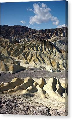Zabriskie Point Death Valley By Frank Lee Hawkins Canvas Print