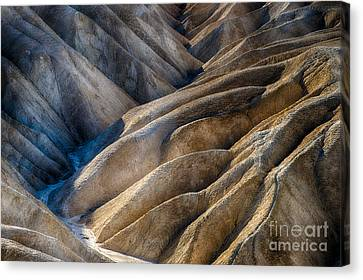 Zabriskie Point Canvas Print by Jennifer Magallon