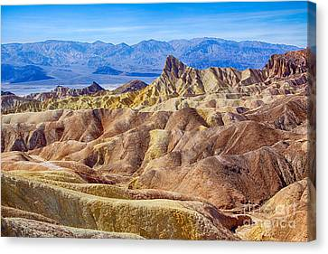 Zabriskie Point Canvas Print by Mimi Ditchie