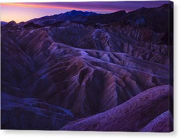 Zabriskie Point Sunrise Canvas Print