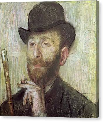 Zachary Zakarian Canvas Print by Edgar Degas