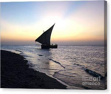 Zanzibar Sunset 20 Canvas Print by Giorgio Darrigo