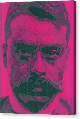 Zapata Intenso Canvas Print