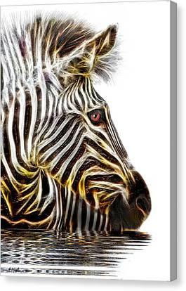 Zebra Crossing Canvas Print by Michael Durst