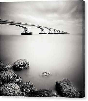 Zeelandbridge II Canvas Print by Nina Papiorek