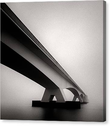 Semi Abstract Canvas Print - Zeelandbrug 2 by Dave Bowman